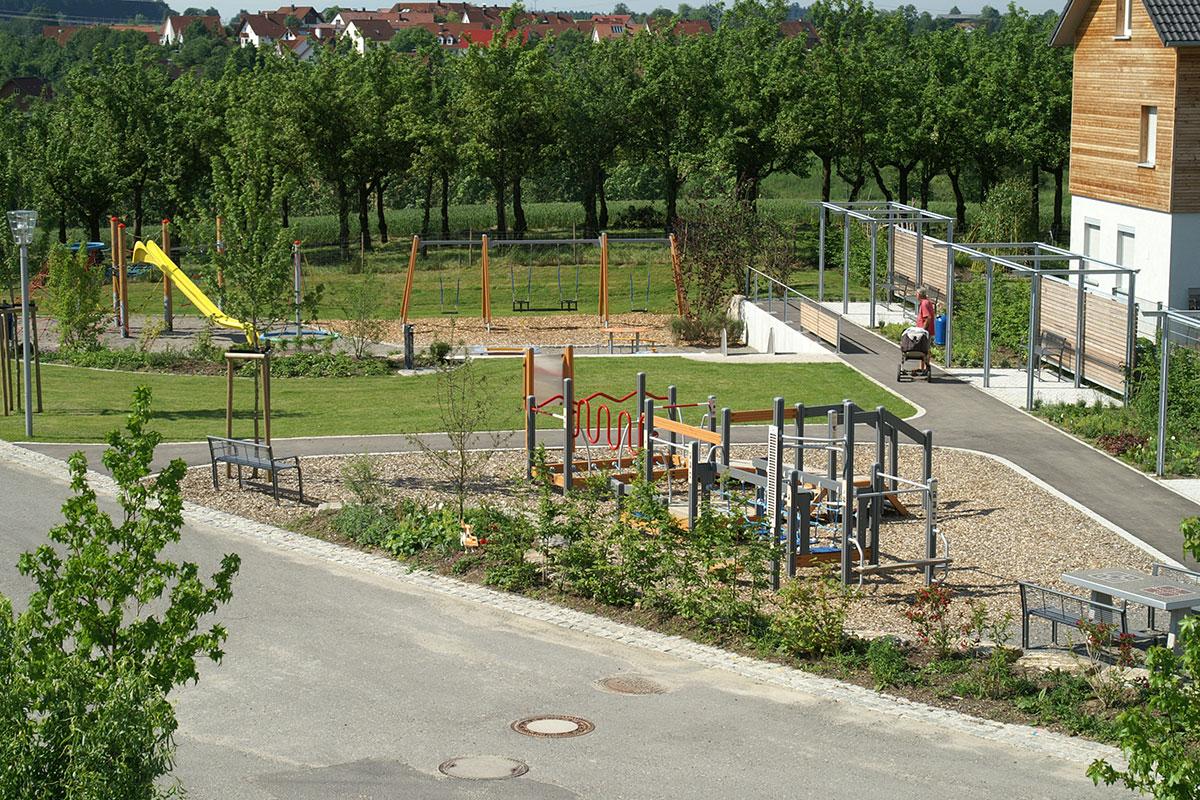 Mehrgenerationenplatz, Grünkraut
