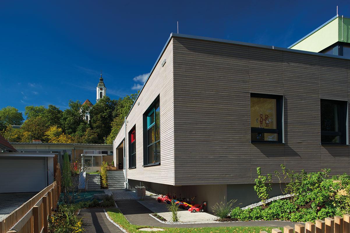 Kinderhaus Papperlapapp, Garten