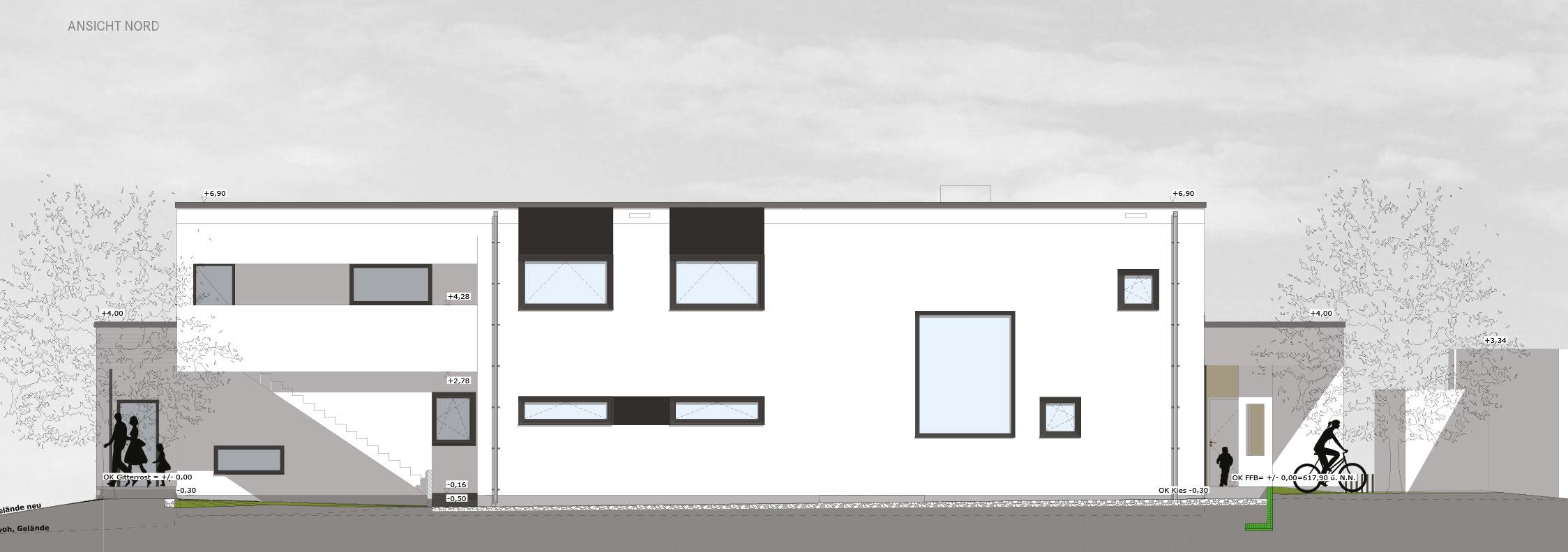 Kinderhaus Papperlapapp, Ansicht Nord