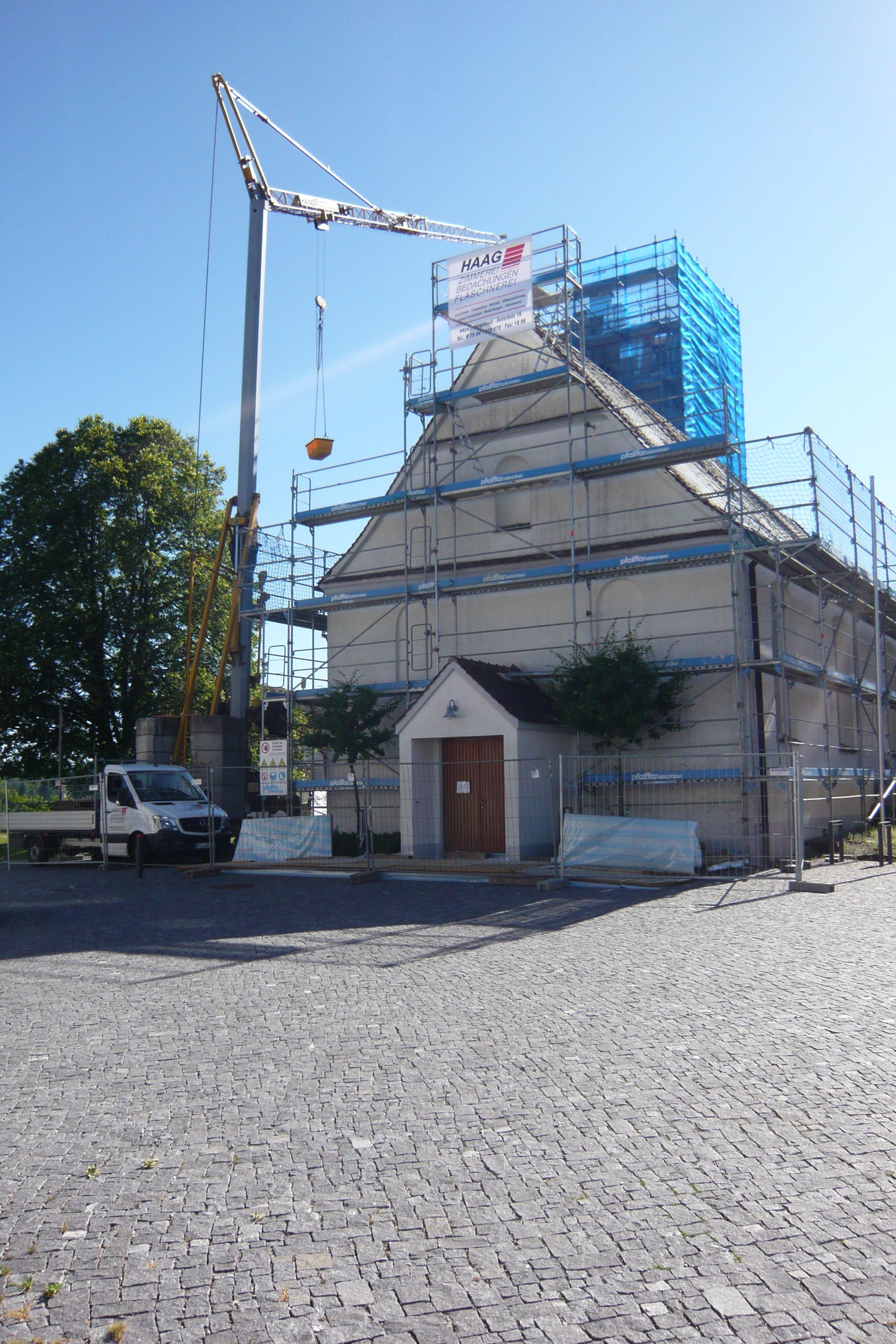 Sanierung Kath. Pfarrkirche St. Ursula Horgenzell