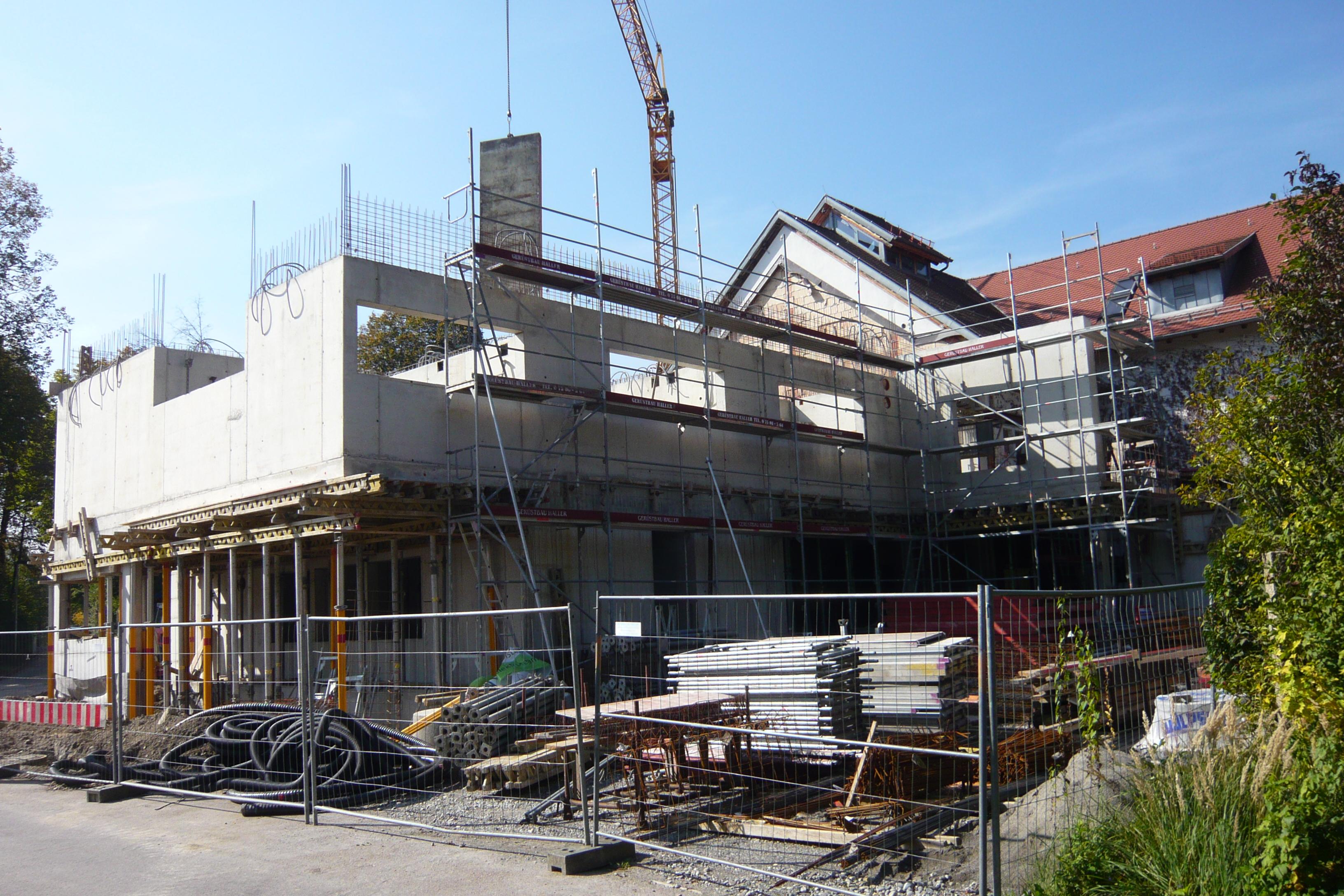 Umbau und Erweiterung Dorfgemeinschaftshaus Bodnegg